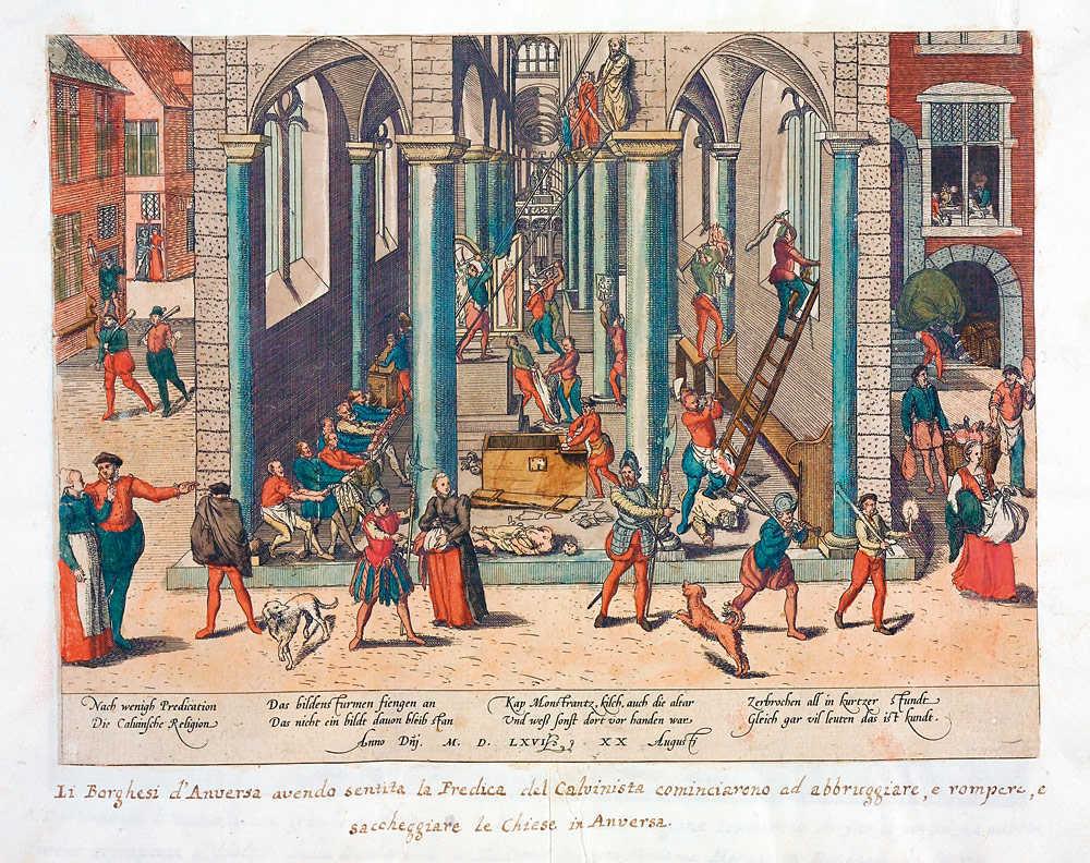 Iconoclasm in 1566